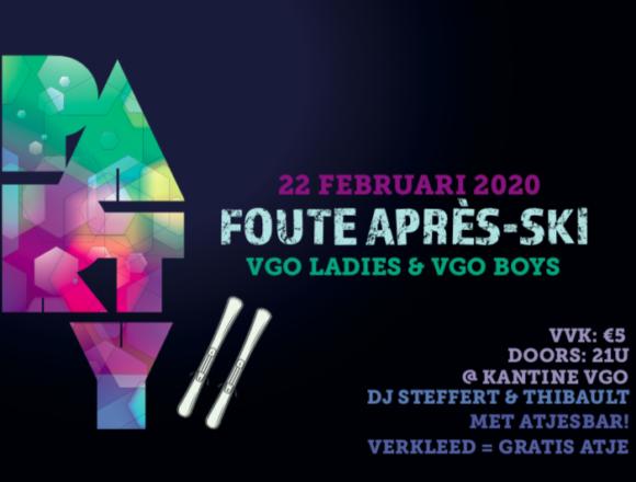 FOUTE APRES-SKI PARTY