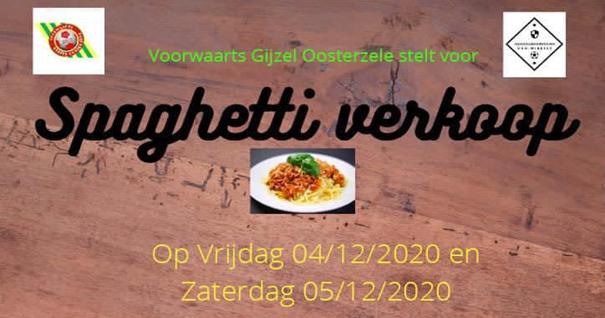 Spaghettiverkoop jeugdwerking VGO